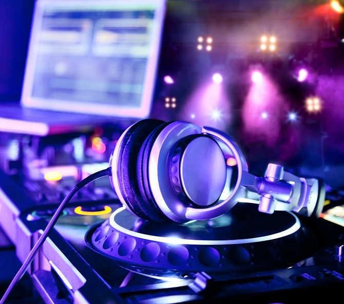 Aparelhos do DJ